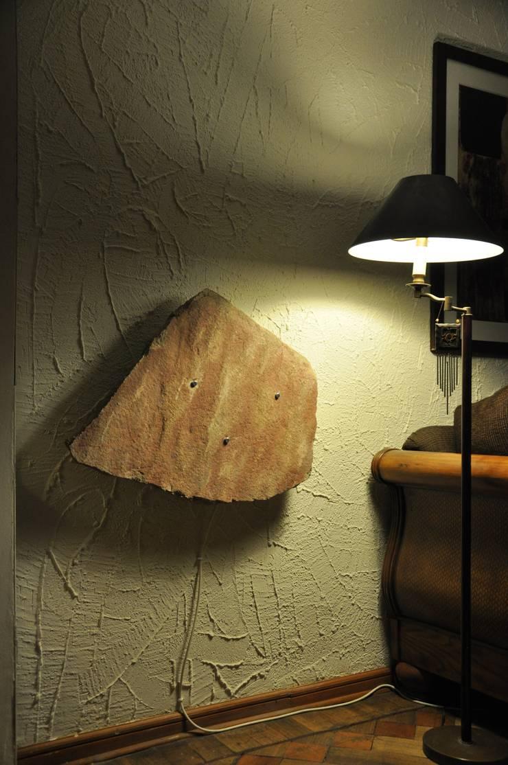 Calefacción Casa Particular Vitacura: Livings de estilo  por ALI-CURA