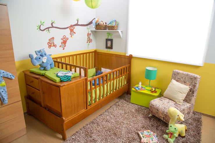Habitación bebé: Habitaciones infantiles de estilo  por Idea Interior