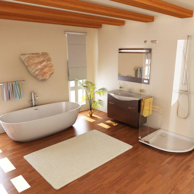 Baños de estilo  por ALI-CURA