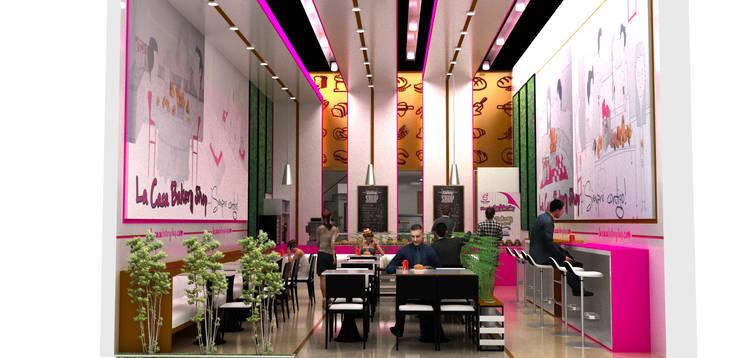 interior 1:  de estilo  por Elizabeth SJ
