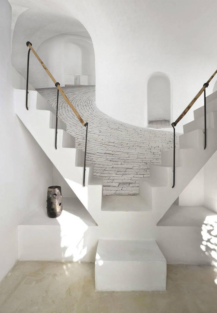 castle: Ingresso, Corridoio & Scale in stile  di Creativespace