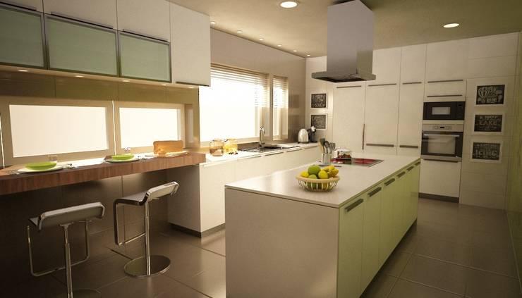 Apartamento Matosinhos: Cozinhas  por Decorando - Inner Spaces