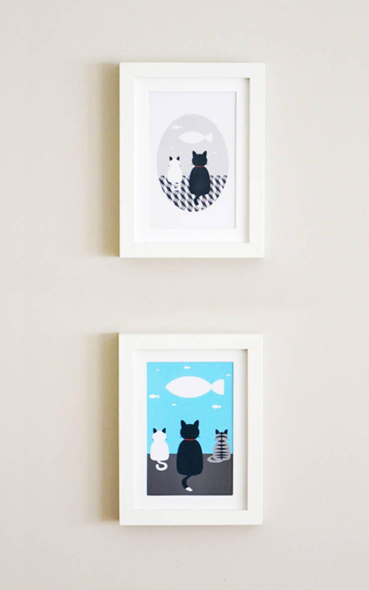 Cat Wishes: Quarto  por Cloudswishes