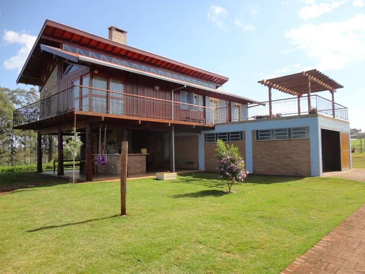 Casas de estilo  por Zani.arquitetura