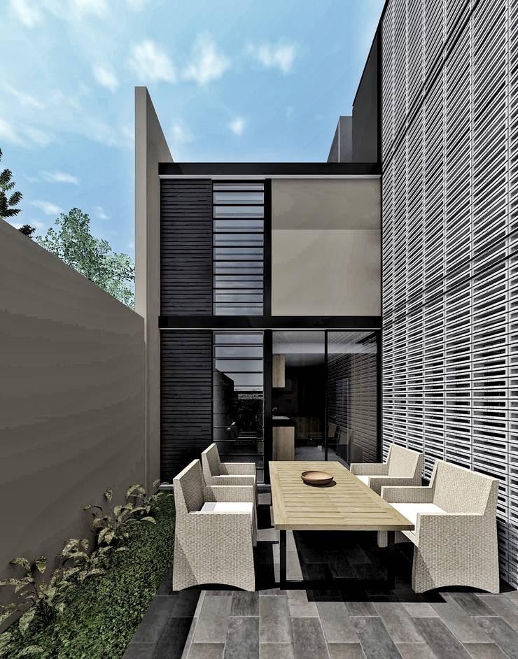 Vista desayunador:  de estilo  por PABELLON de Arquitectura