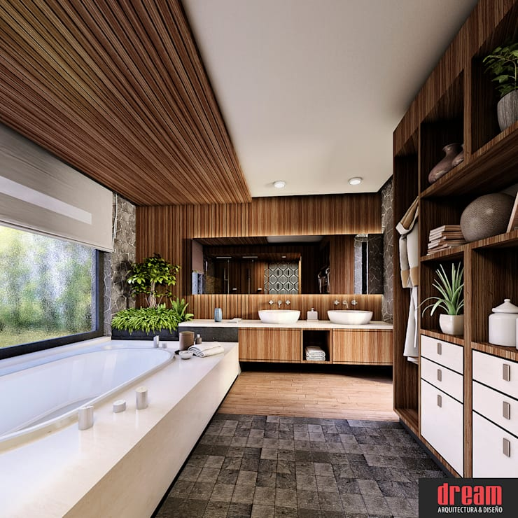 Bathroom by Estudio Meraki