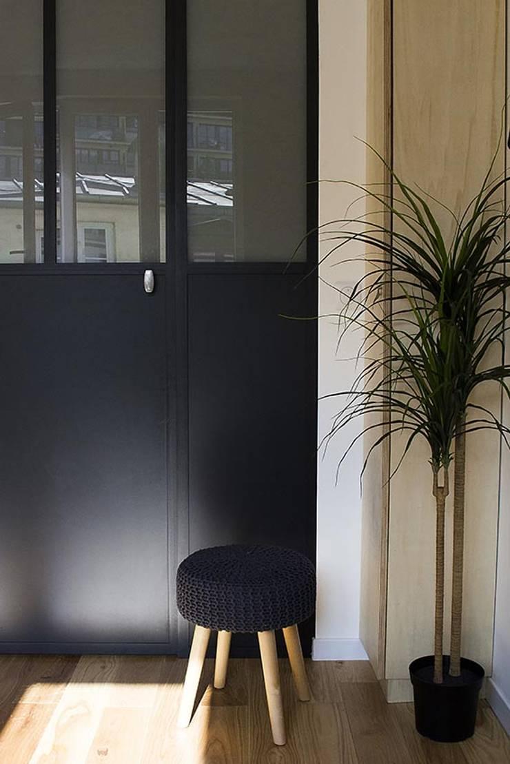 renovation complÈte et agencement d'un studio À destination d'un