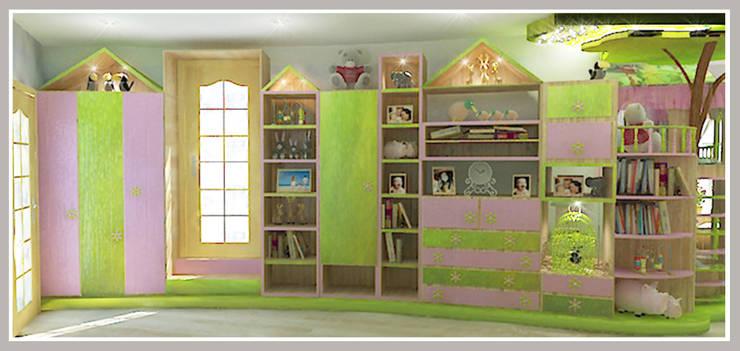 Детская  для девочек Вид 5: Детские комнаты в . Автор – Рязанова Галина