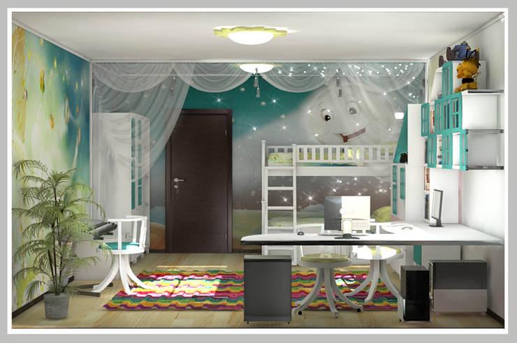Детская комната : Детские комнаты в . Автор – Рязанова Галина