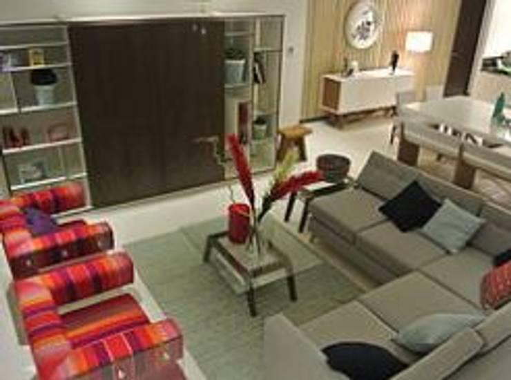 Sala: Salas de estilo  por ArtiA desarrollo, arquitectura y mobiliario.