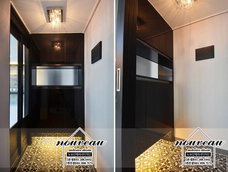 인더스트리얼 컨셉으로 꾸민 34평아파트인테리어: 누보인테리어디자인의 인더스트리얼 ,인더스트리얼