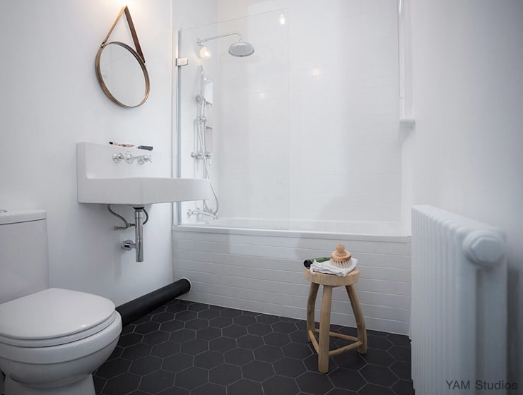 Brixton Pad 04: scandinavian Bathroom by YAM Studios