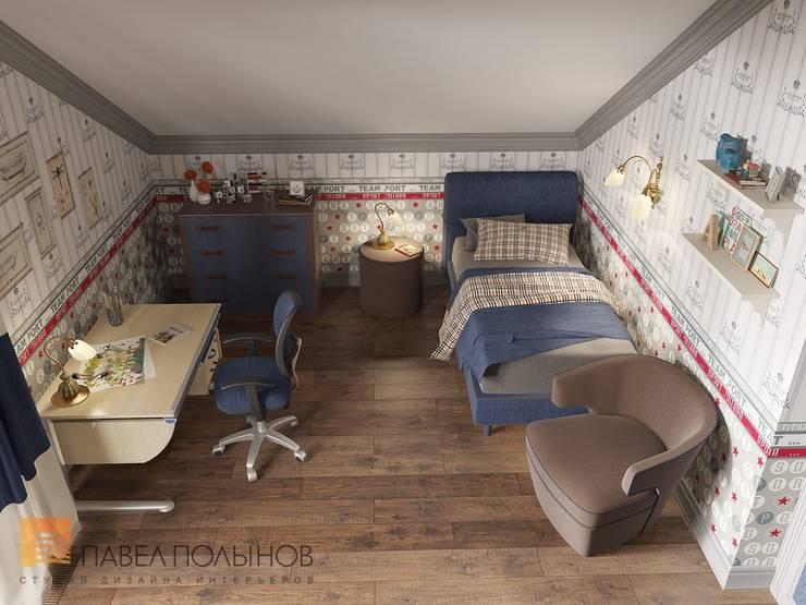 غرفة الاطفال تنفيذ Студия Павла Полынова