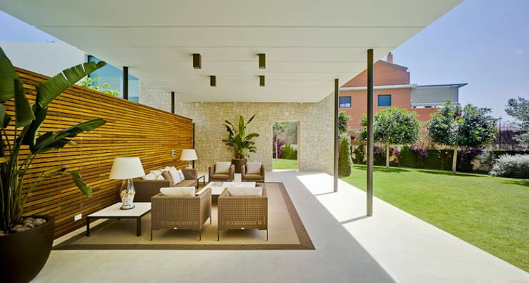 Tерраса в . Автор – Aguilar Arquitectos