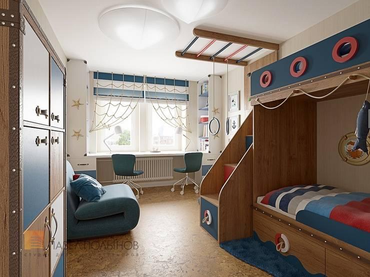 Nursery/kid's room by Студия Павла Полынова