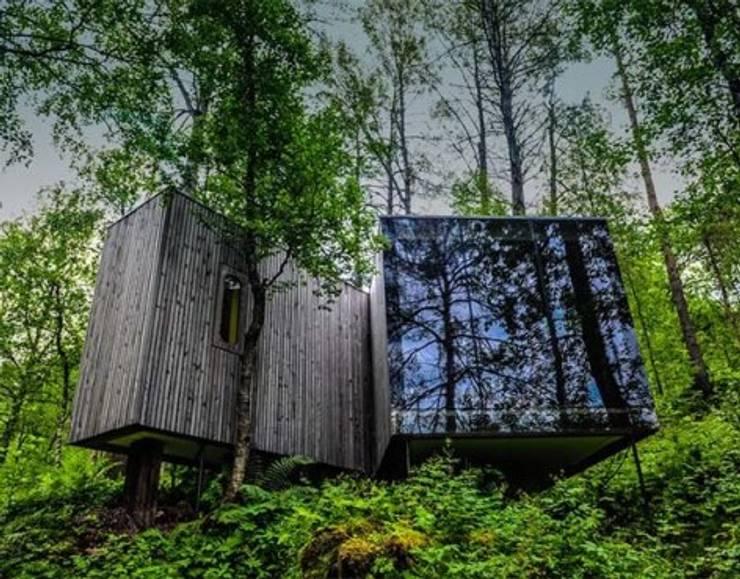 SARGRUP İNŞAAT VE ENERJİ LTD.ŞTİ. – VIVOOD Landscape Hotel:  tarz Evler