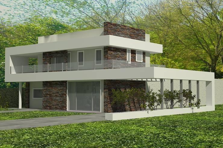 Maisons de style  par arquitectura siglo XXI