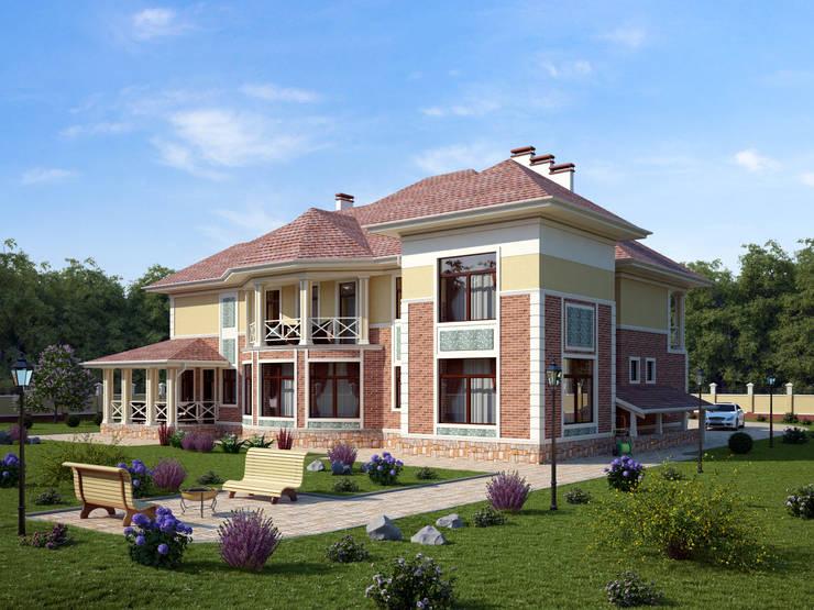 Эдем_415 кв.м.: Дома в . Автор – Vesco Construction
