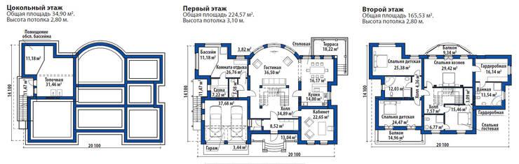 Эдем_415 кв.м.:  в . Автор – Vesco Construction
