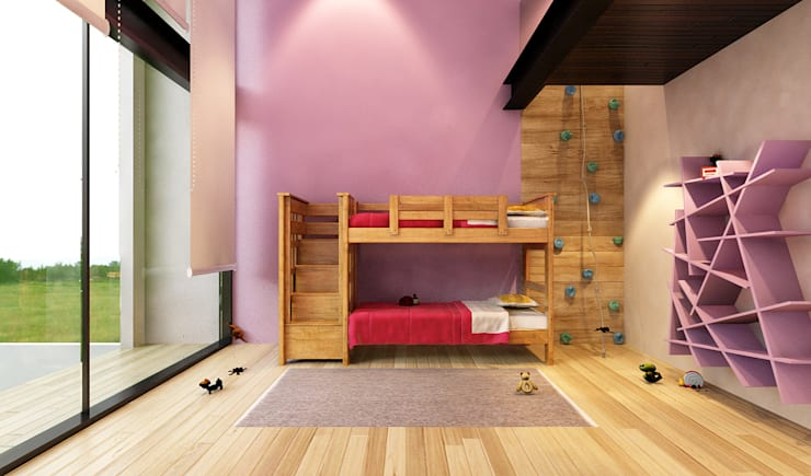 Nursery/kid's room by AParquitectos