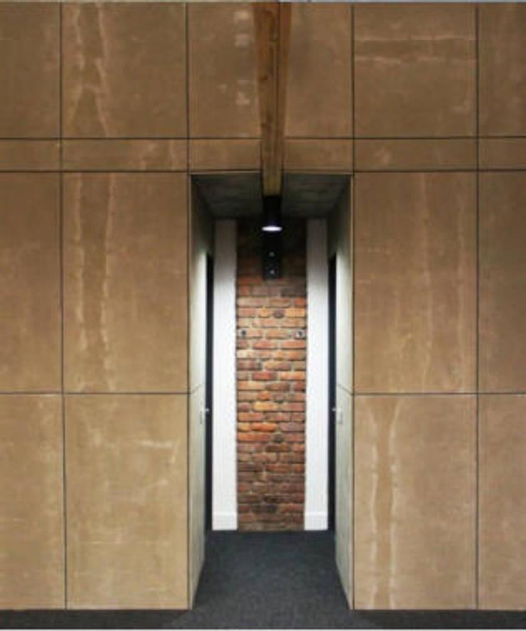 SARGRUP İNŞAAT VE ENERJİ LTD.ŞTİ. – FIBERCEMENT PANELLER – OFİS:  tarz Duvar & Zemin