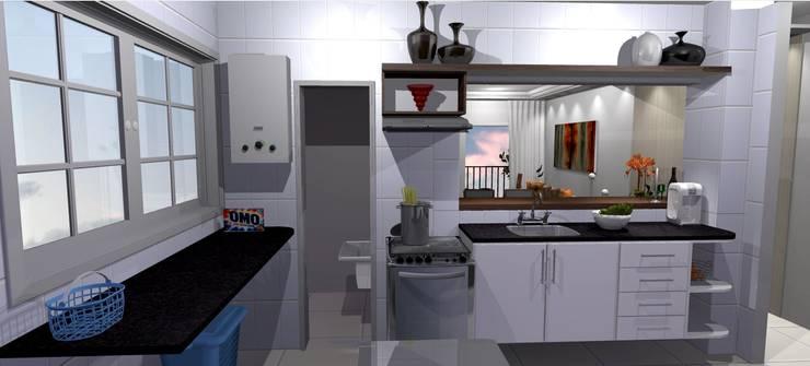 Kitchen by Arquiteta Elaine Silva