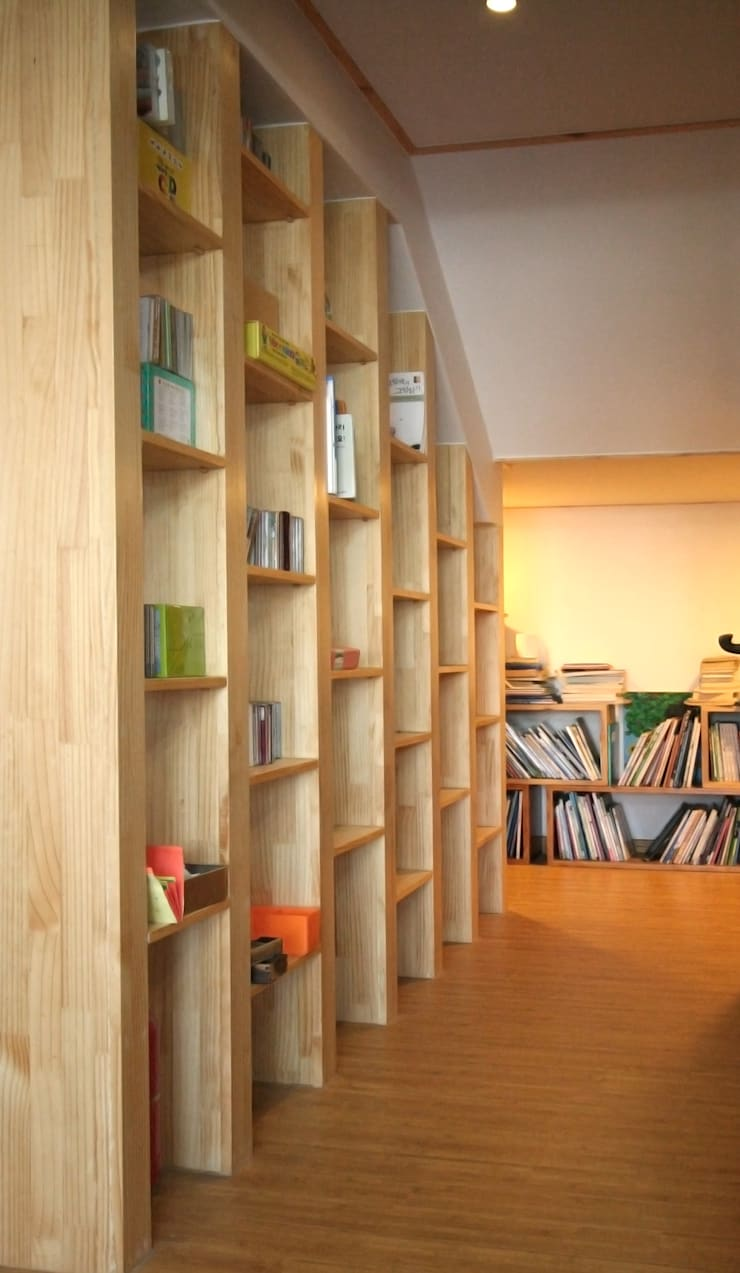 용인 흥덕지구 (Yongin): HOUSE & BUILDER의  침실