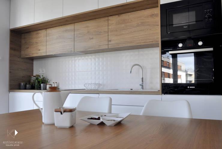 مطبخ تنفيذ Architekt wnętrz Klaudia Pniak