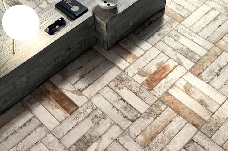 Coem - Bricklane:  Muren door Spadon Agenturen, Landelijk Keramiek