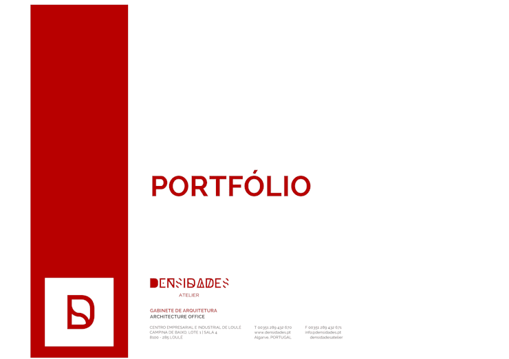 Portfólio:   por atelierDensidades