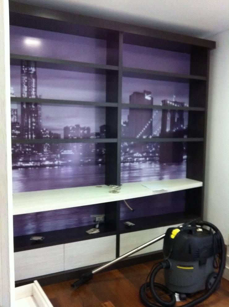 Xime Russo Interiores :  tarz Çalışma Odası, Modern