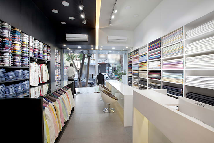 Retail Store at Thane:  Commercial Spaces by Urban Tree