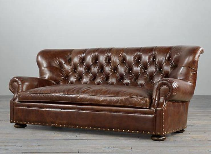 Chesterfield by Xime Russo Interiores: Livings de estilo  por Xime Russo Interiores