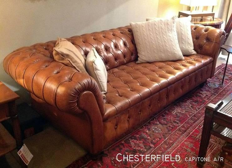 Chesterfield by Xime Russo Interiores: Hogar de estilo  por Xime Russo Interiores