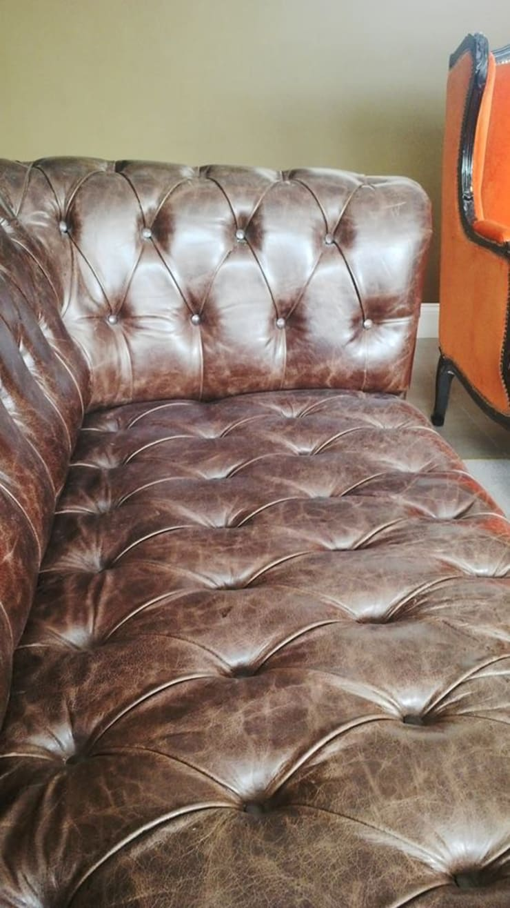 Chesterfield by Xime Russo Interiores: Dormitorios de estilo  por Xime Russo Interiores