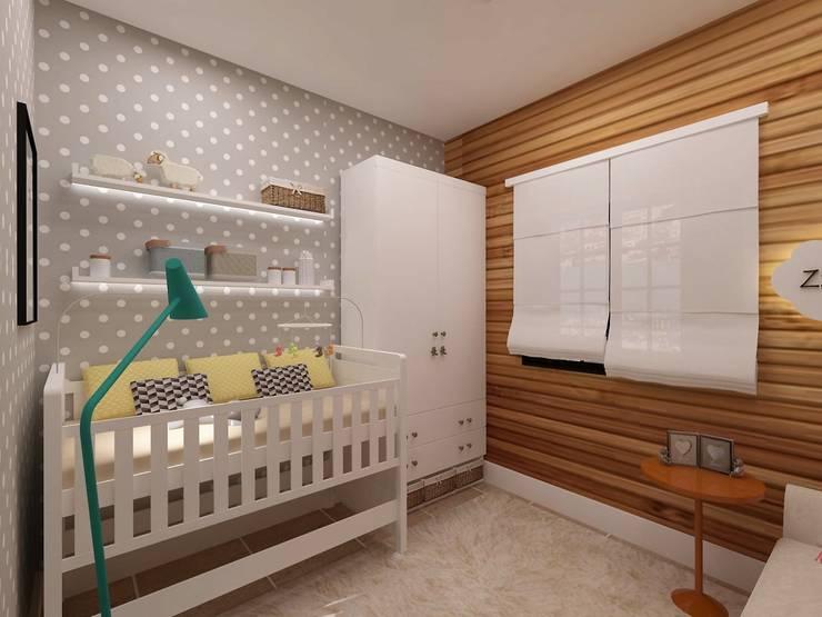 Quarto Infantil: Quarto infantil  por .Villa arquitetura e algo mais,