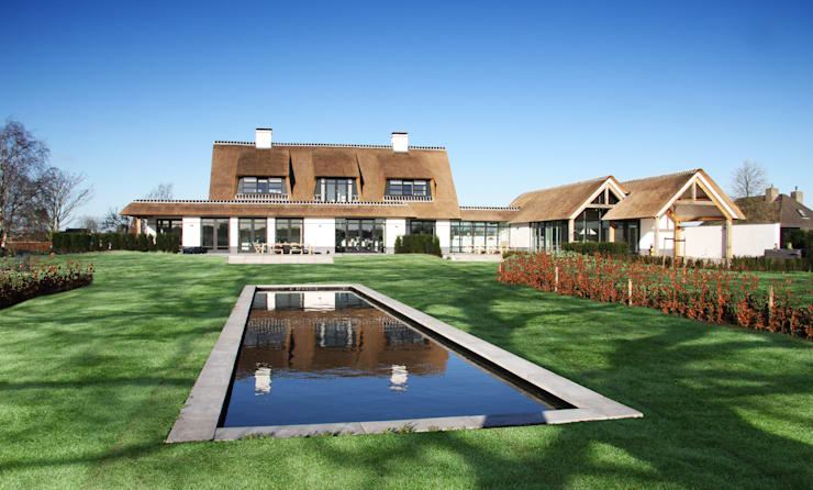 Projekty,  Domy zaprojektowane przez Arend Groenewegen Architect BNA