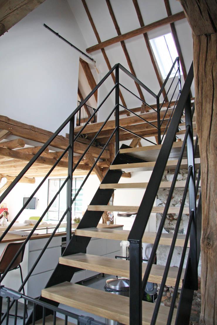 trap:  Gang en hal door Arend Groenewegen Architect BNA, Landelijk