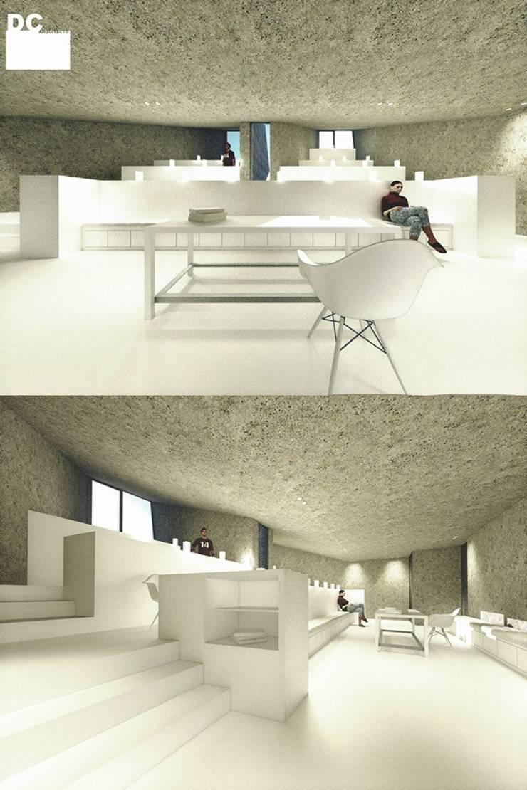 Sala comum:   por Arq. Duarte Carvalho