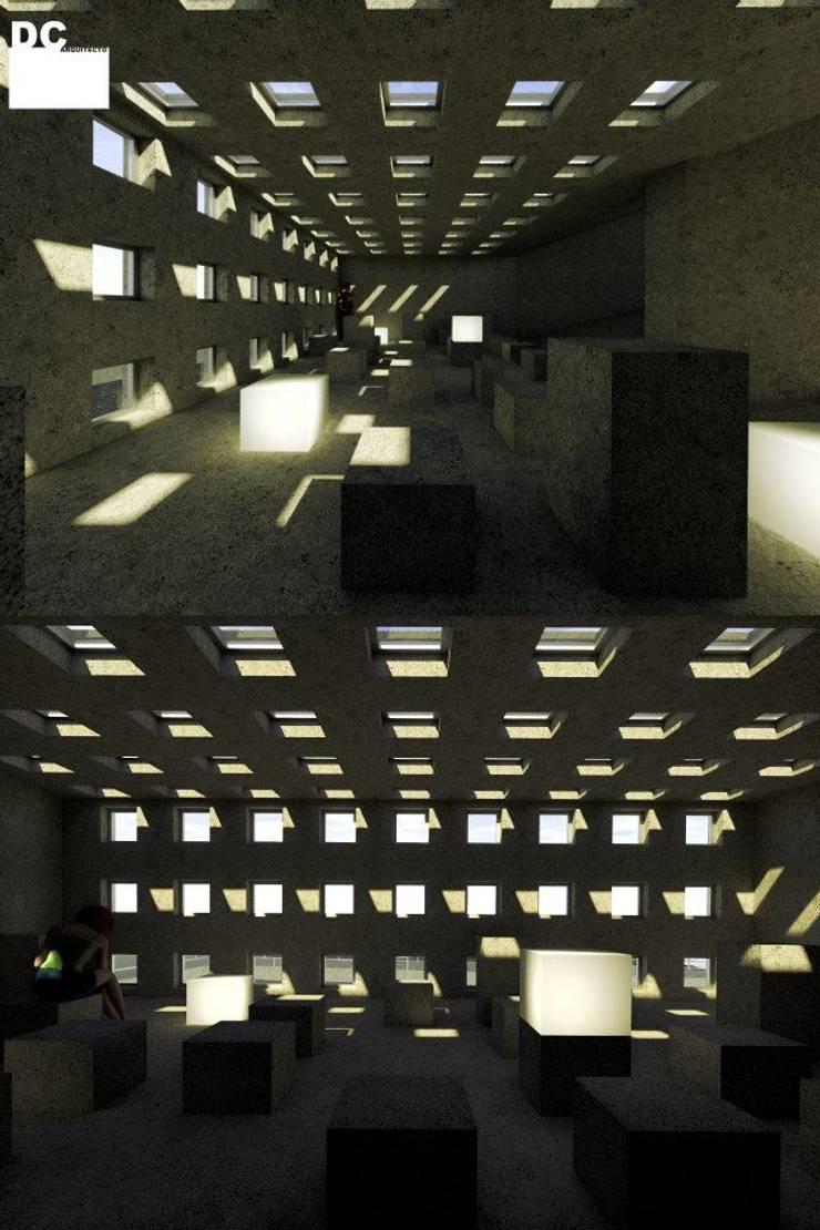 Sala de silêncio:   por Arq. Duarte Carvalho
