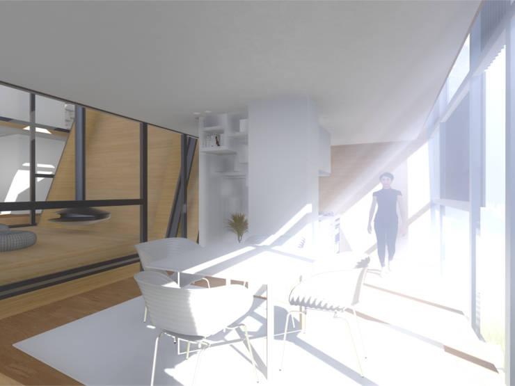 interior - Cozinha:   por Arq. Duarte Carvalho