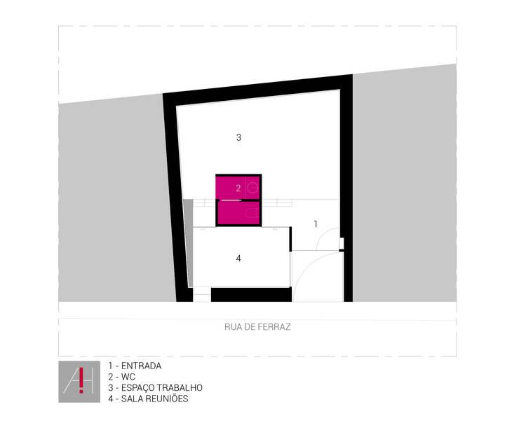 ATELIER AH! ARQUITECTURA:   por Aurora Fernandes e Helena Alves - Arquitectas Associadas Lda.