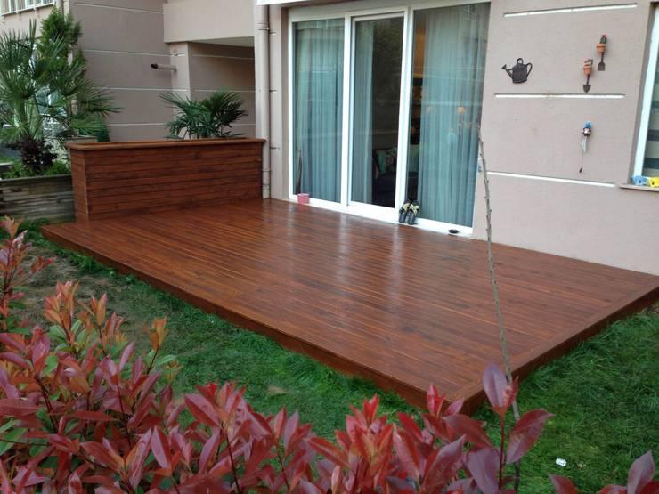 Jardines de estilo  por As3 Orman Ürünleri San Ve Tic Ltd Şti