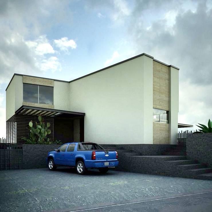 Maisons de style  par CoRREA Arquitectos