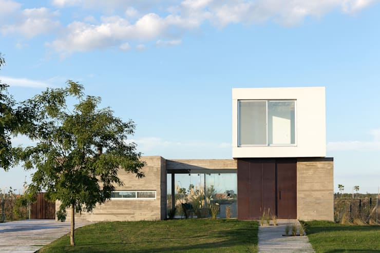 Casa CG342: Casas de estilo  por BAM! arquitectura