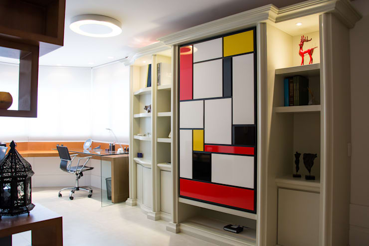 eclectic Study/office by João Luís Linck | Arquitetura