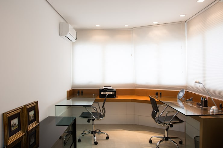 modern Study/office by João Luís Linck | Arquitetura