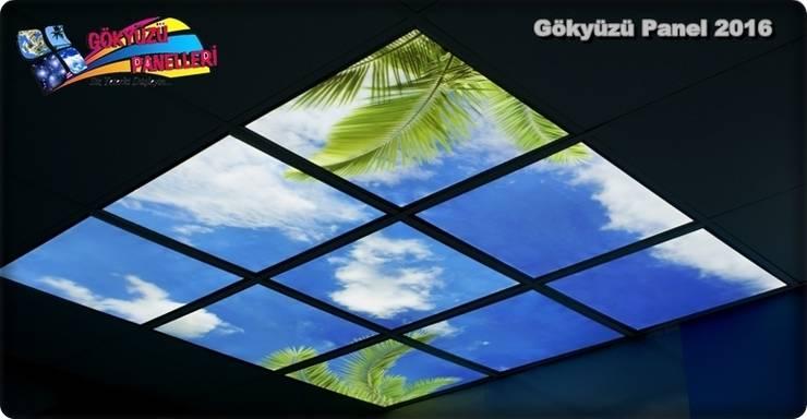Gökyüzü Panel – Sky Panels: modern tarz , Modern Ahşap Ahşap rengi