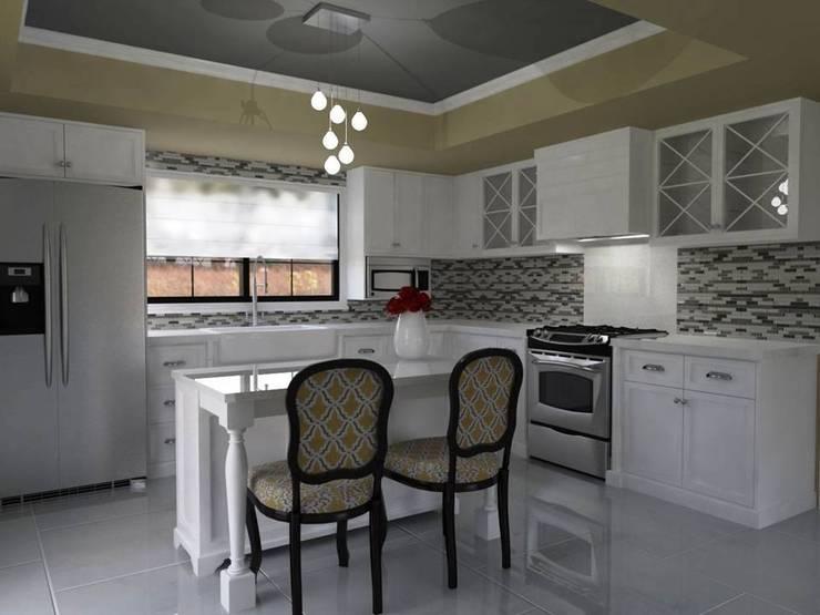 Terraza: Cocina de estilo  por casa.nova interiorismo