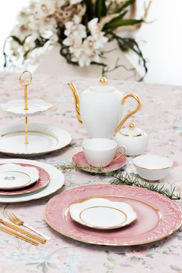 Vivian: Cozinha  por Porcel - Indústria Portuguesa de Porcelanas, S.A.
